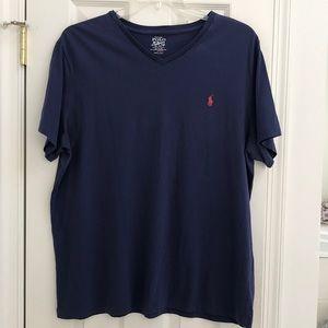 New W/O tag polo Ralph Lauren men's tee shirt XL